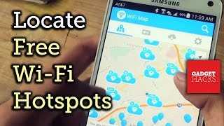 Find Local WiFi Hotspots & Connect for Free [Android/iOS] Full Tuto...