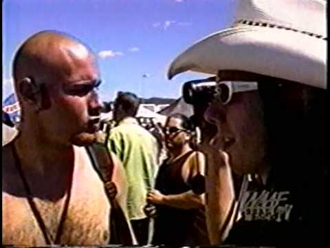 Sam Rivers and Wes Borland (Limp Bizkit) Interview @ Warped Tour 1997