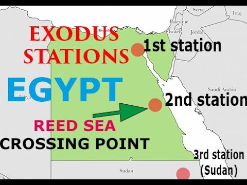 REAL Exodus Route...to ETHIOPIA (answering Dr. Hoffmeier)