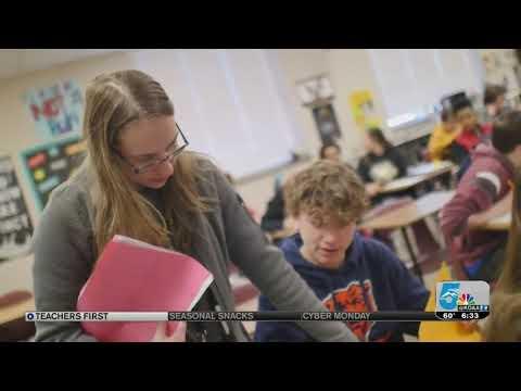 November's Teachers First award winner is Laura Horner of Jenkins Middle School