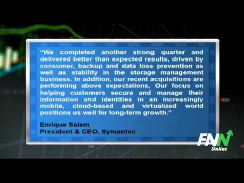 Symantec Tops Q3 EPS and Revenue Estimates