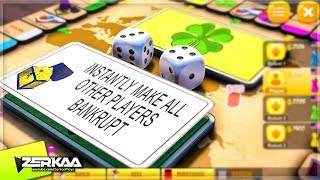 THE LUCKIEST MONOPOLY PLAYER EVER! (Rento Fortune)