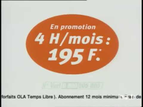 France Telecom Itineris Ola   Ola Noël offre 1   Publicité Ina fr