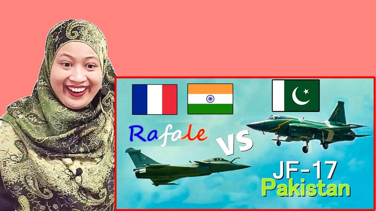 Rafale vs Pakistan JF 17  | Paris Air Show 2019 | Malaysian Girl Reactions