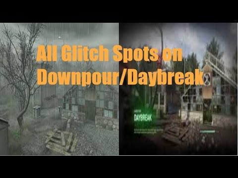 Best  Glitch Spots On Downpour/Daybreak