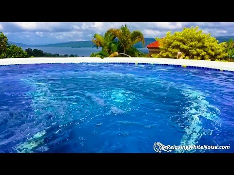 Hot Tub Water Sounds White Noise | Sleep, Study, Relax | 10 Hours Jacuzzi