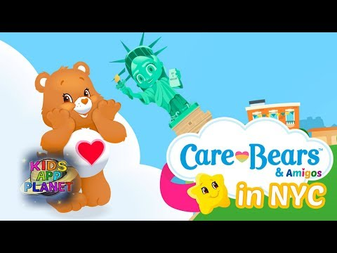 📖🔤 Smart Learning Game For Toddlers - Care Bears & Amigos in NYC - Kids Learn 1500 Words With This