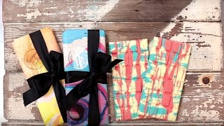 Meringue Girls Marbled White Chocolate Bars
