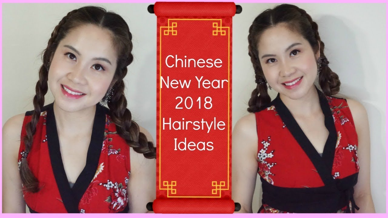How To Diy Beautiful And Easy Chinese New Year Hairstyle Ideas For
