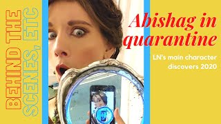 Abishag  in Quarantine- What my main character does in TN, 2020