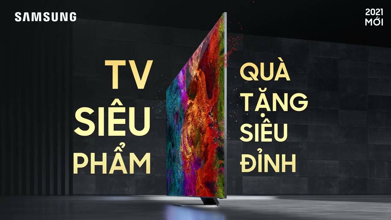 TV Neo QLED 8K: Vượt trên tuyệt tác | Samsung