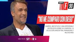 Gabriel Batistuta, en FOX Sports