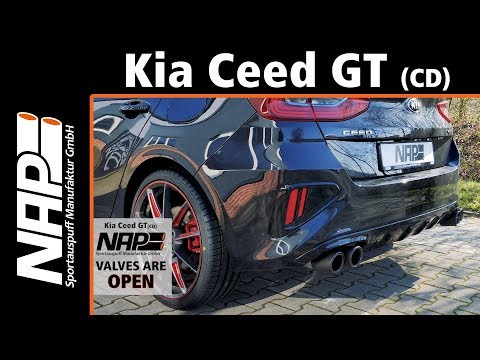 NAP Klappenauspuff ▶ Kia Ceed GT (CD) 2018/2019 - Soundcheck Vergleich Zu Serie