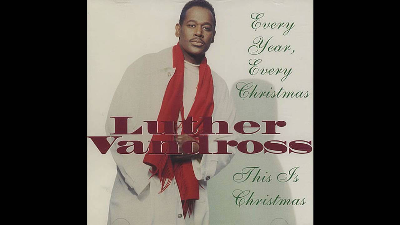 Luther Vandross Christmas Album.Luther Vandross Every Year Every Christmas Medley