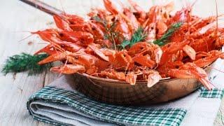 Жареные раки в сливочном соусе рецепт ✪ Как приготовить раков  -  How To Cook Crawfish