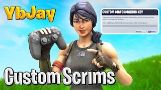 Fortnite Custom Matchmaking Scrims | Solo/Duo Scrims Fortnite (Code YBJAYSCRIMS)