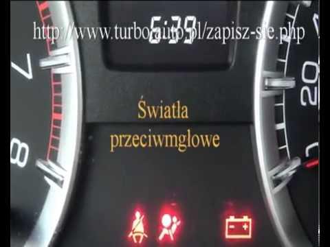 Kontrolki Suzuki Swift Egzamin Praktyczny Word łódź Szkoła Kierowców Turbo Pabianice Youtube