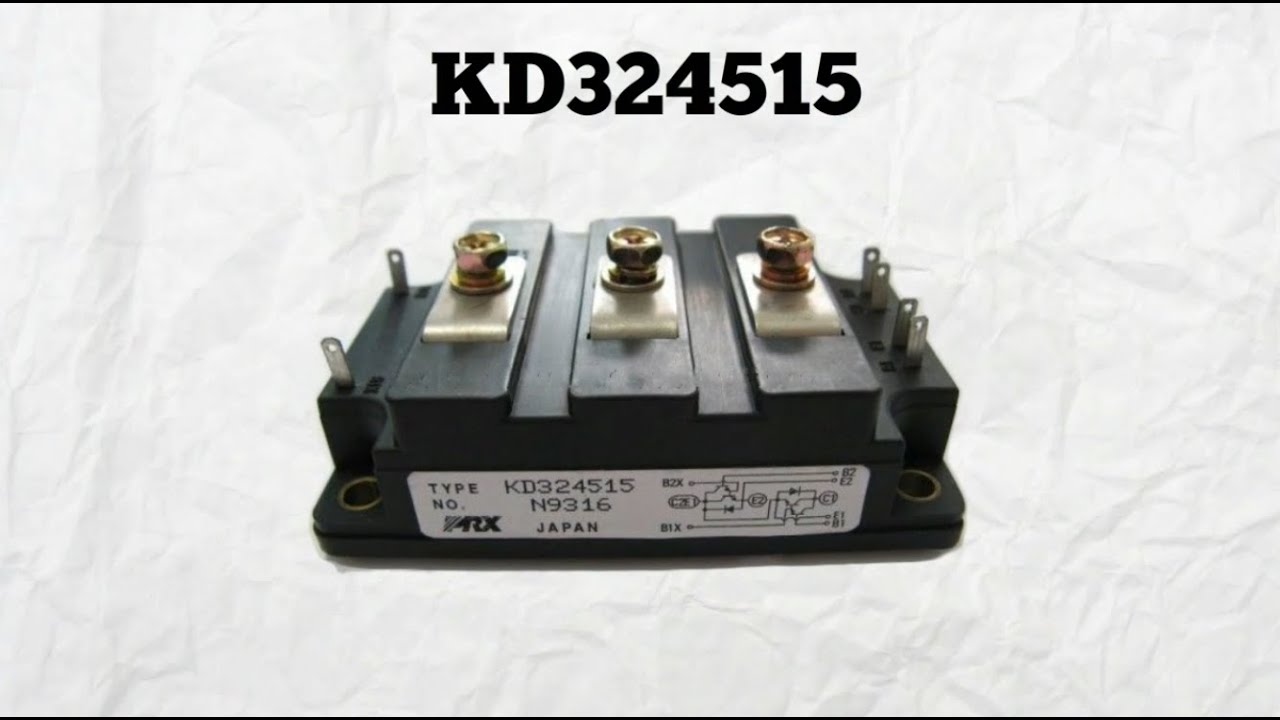 POWEREX MODULE TYPE KD324515