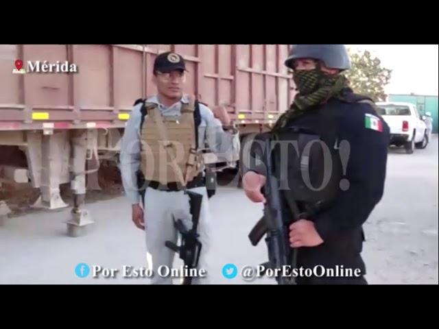 Encuentran depósito ilegal de gasolina en la Mérida-Tixkokob :. POR ESTO!