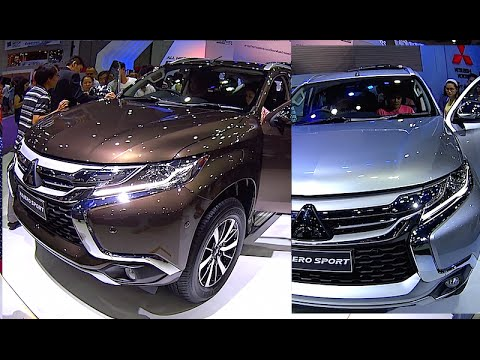 Mitsubishi All New Pajero Sport 2017 >> All New Mitsubishi Pajero Sport 2015 2016 2017 Video Review Youtube