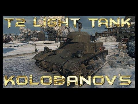 World of Tanks T2 Light Tank