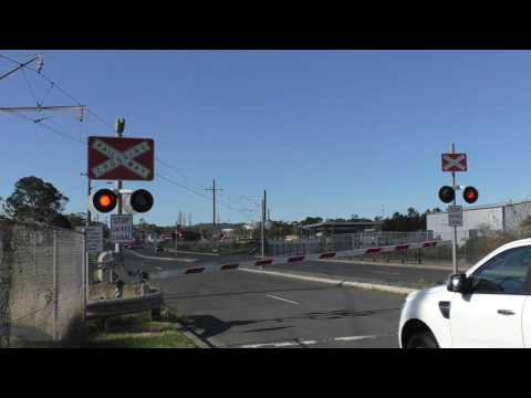 Level Crossing, Unanderra NSW, Australia.
