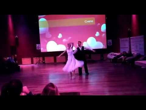 Романтический танец на свадьбу