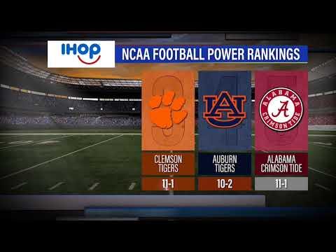 Sports2Nite - San Antonio's only nightly 30 minute sportscast - College Football Power Rankings