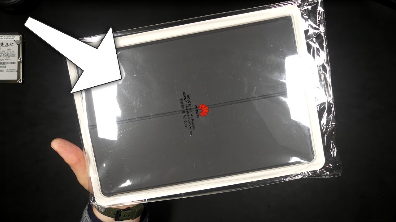 newest 05327 01414 Huawei MediaPad M5 Flip Cover - Unboxing & After 20 days