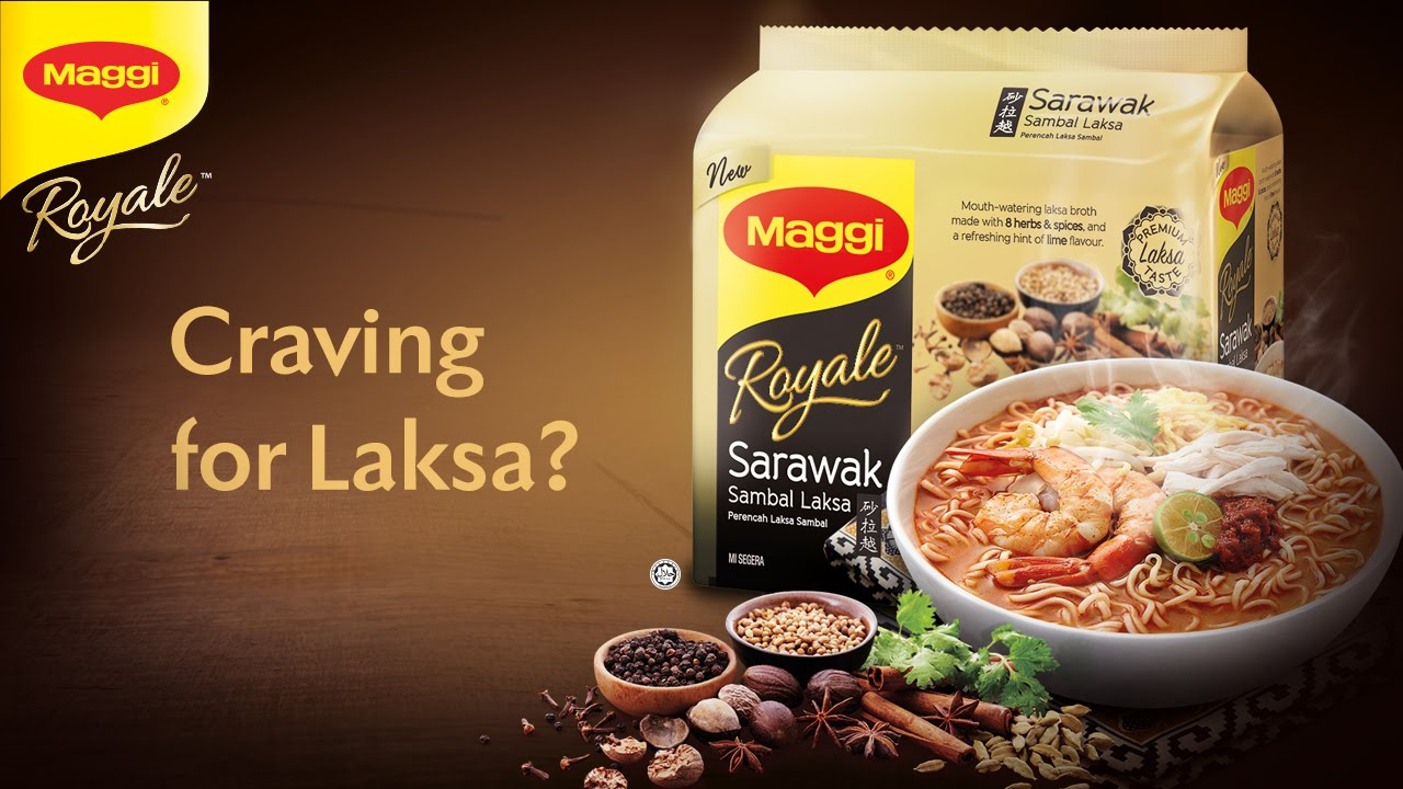 Craving For Laksa Have It At Home Now The New Maggi Royale Sarawak Sambal You