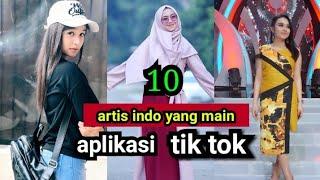 Download lagu Selain Tasya inilah 10  artis Indonesia yg main Tik tok