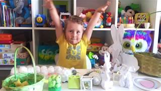 Обзор. Пасхальные украшения в Испании от Nikola Kids show