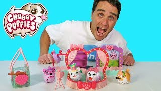 Chubby Puppies Fashion Runway Playset ! || Toy Review || Konas2002