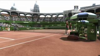 Virtua Tennis 4 Nintendo Wii  WORLDTOUR   Trailer deutsch