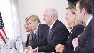 Vice President Pence in Argentina