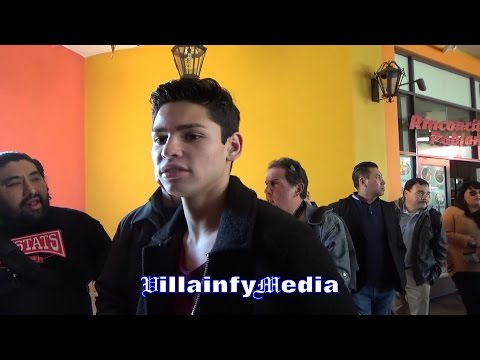 """RYAN GARCIA: LINARES HAS MORE """"POWER"""" THAN LOMACHENKO; VASYL """"MORE DIFFICULT TO FIGURE OUT"""""""
