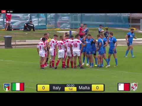 Italy vs Malta Rugby League 2017