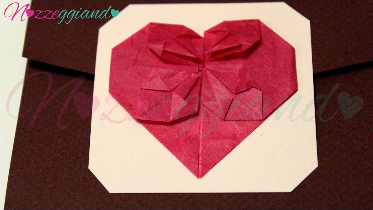 Favoloso Partecipazione fai da te Cuore origami Trailer Nozzeggiando - YouTube IH37