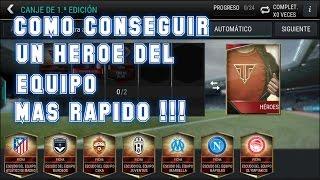FIFAMOBILE| COMO TENER UN JUGADORE HEROE DEL EQUIPO MAS RAPIDO !! |Mrojos56 thumbnail