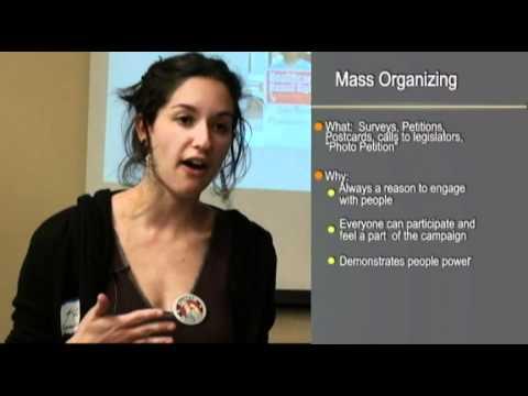 Strategies & Tactics for Organizing Communities