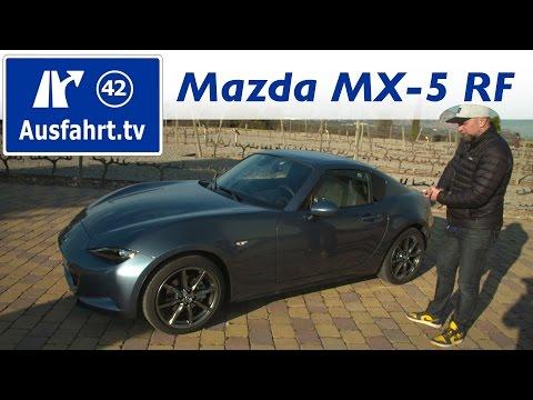 2017 Mazda MX-5 RF   Fahrbericht der Probefahrt  Test   Review