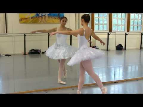 Katherine Healy ballet rehearsal advanced variations 1, May 16, 2017