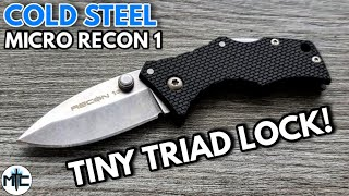 Cold Steel Micro Recon 1 Folding Knife - Overview and Review