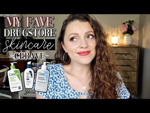 BEST DRUGSTORE SKINCARE I'VE TRIED // CeraVe thumbnail