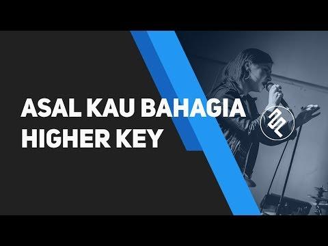 Armada - Asal Kau Bahagia Piano Karaoke Instrumental Higher Key Synthesia / Chord / Lirik / Tutorial