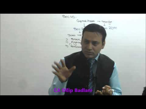 Income Tax : AY 16-17 : Capital Gains : Lecture 2