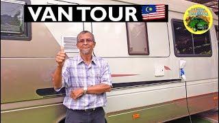 Malaysian Man Builds a Mercedes Sprinter Campervan