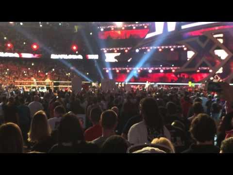Brock Lesnar Entrance WM30
