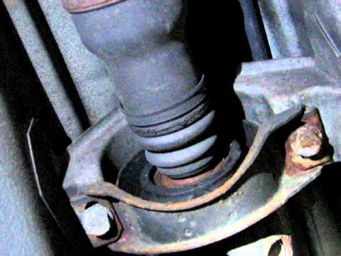 Center Support Bearing Check W202 C280 Youtube