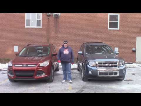 2012 vs  2014 Ford Escape Comparison